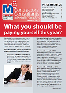 Meades Contractors Newsletter Issue 1, 2017