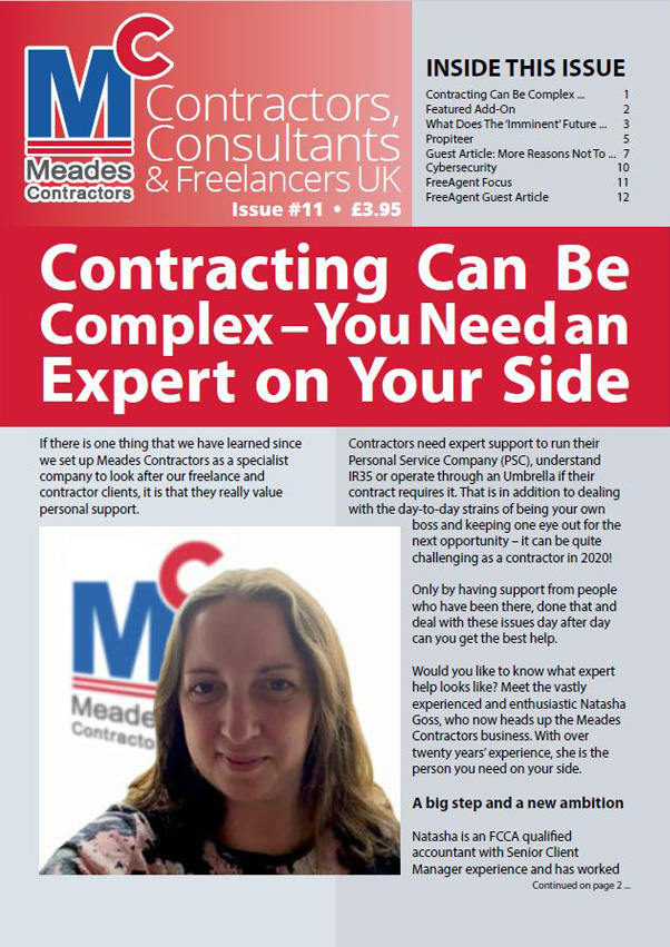 Meades Contractors Newsletter Issue 11, 2019