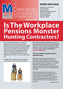Meades Contractors Newsletter Issue 2, 2017